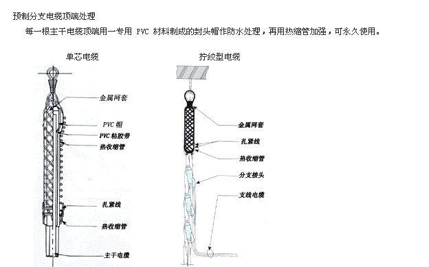 分析分支电缆结构特点及性能技术先进性